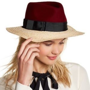 Kate Spade Color Block Fedora